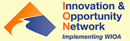 Image of Innovation and Opportunity Network - Implementing WIOA logo